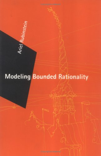 Large book cover: Modeling Bounded Rationality