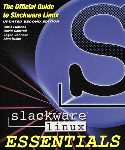 Large book cover: Slackware Linux Essentails, 2nd Edition