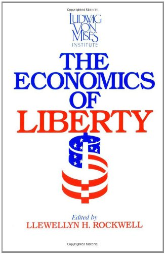 Large book cover: The Economics of Liberty