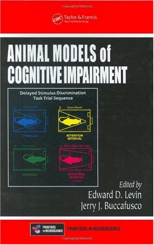 Large book cover: Animal Models of Cognitive Impairment