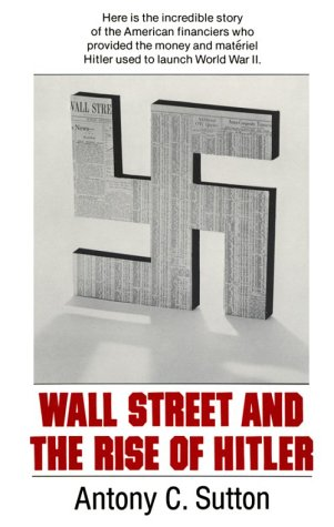 Large book cover: Wall Street and the Rise of Hitler