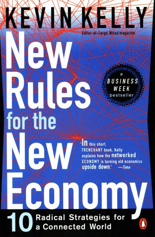Large book cover: New Rules for the New Economy