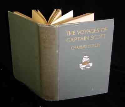 Large book cover: The Voyages of Captain Scott