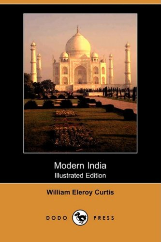 Large book cover: Modern India