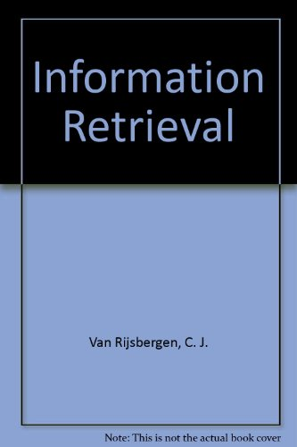 Large book cover: Information Retrieval