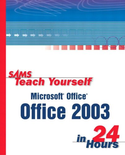 Large book cover: Sams Teach Yourself Microsoft Office 2003 in 24 Hours