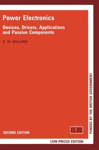 Large book cover: Power Electronics: Devices, Drivers, Applications, and Passive Components