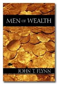 Large book cover: Men of Wealth