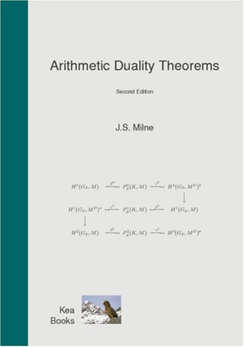 Large book cover: Arithmetic Duality Theorems