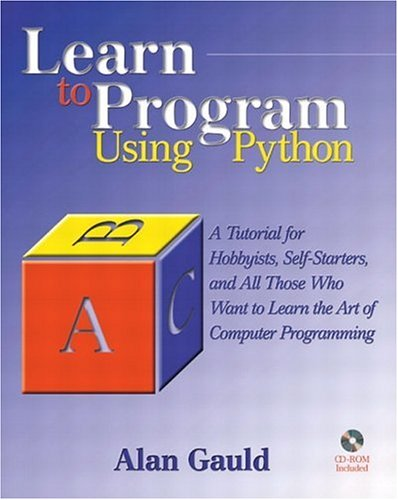 Large book cover: Learn to Program Using Python