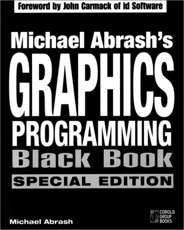 Large book cover: Michael Abrash's Graphics Programming Black Book