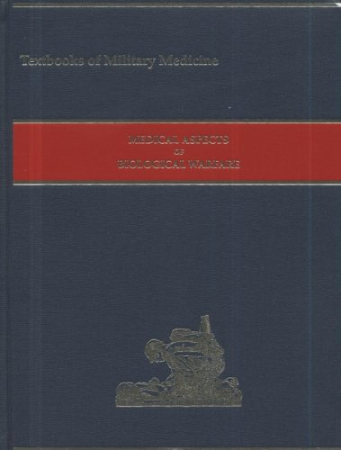 Large book cover: Medical Aspects of Biological Warfare