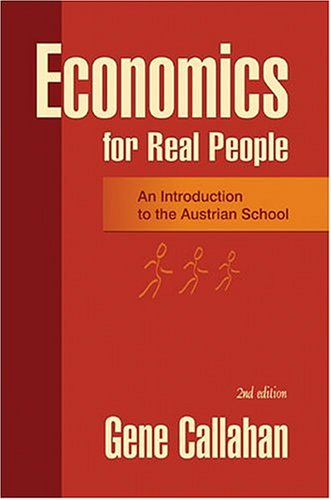 Large book cover: Economics for Real People