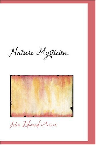 Large book cover: Nature Mysticism