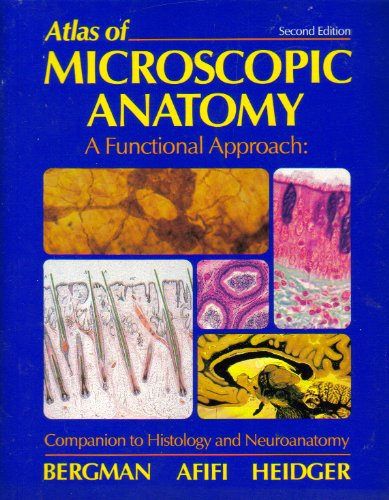 Large book cover: Atlas of Microscopic Anatomy - A Functional Approach