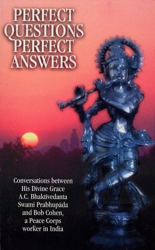 Large book cover: Perfect Questions Perfect Answers