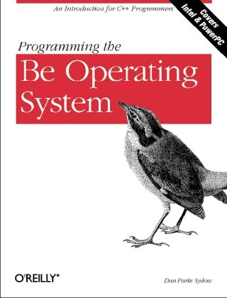 Large book cover: Programming the Be Operating System
