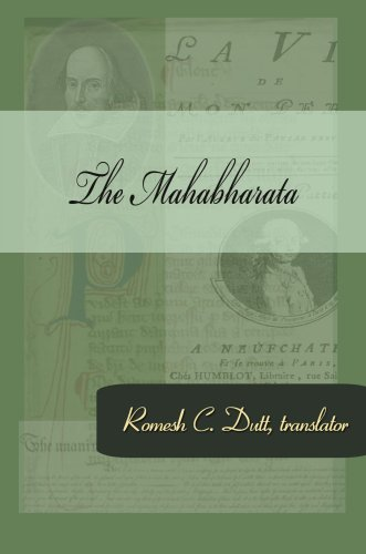 Large book cover: Maha-bharata: The Epic of Ancient India