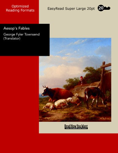 Large book cover: Aesop's Fables