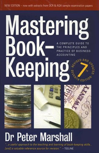 Large book cover: Mastering Book-Keeping