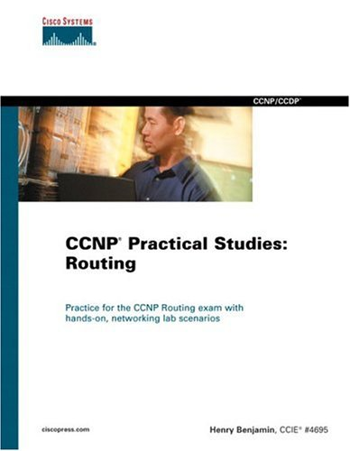 Large book cover: CCNP Practical Studies: Routing