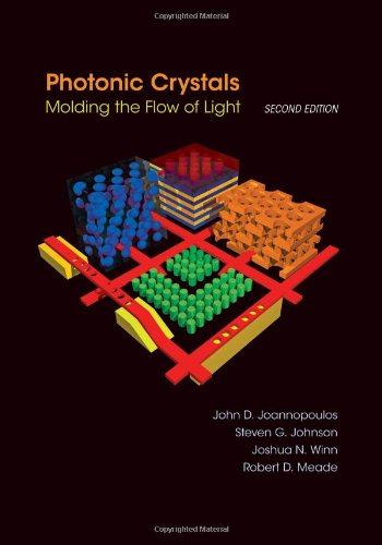 Large book cover: Photonic Crystals: Molding the Flow of Light