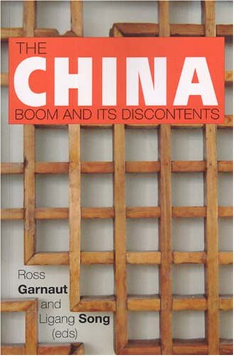 Large book cover: The China Boom And Its Discontents