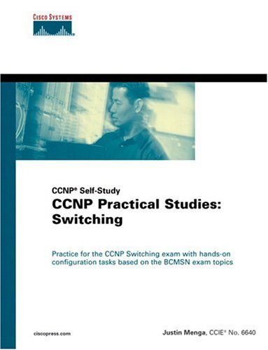 Large book cover: CCNP Practical Studies: Switching