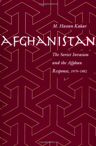 Large book cover: Afghanistan: The Soviet Invasion and the Afghan Response, 1979-1982