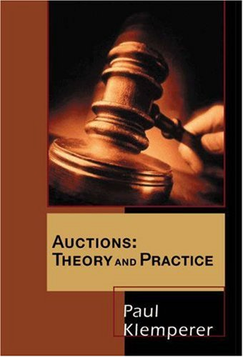 Large book cover: Auctions: Theory and Practice