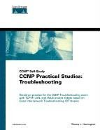Large book cover: CCNP Practical Studies: Troubleshooting