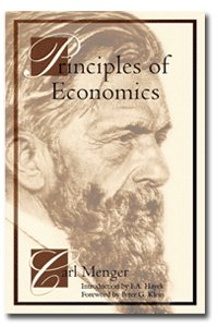 Large book cover: Principles of Economics