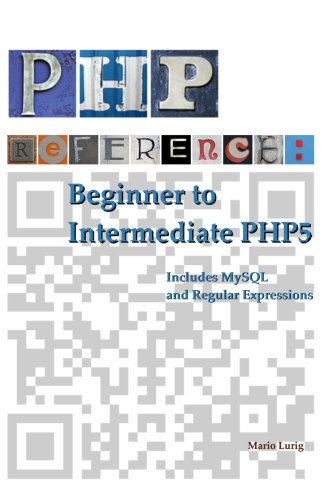 Large book cover: PHP Reference: Beginner to Intermediate PHP5
