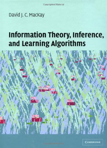 Large book cover: Information Theory, Inference, and Learning Algorithms
