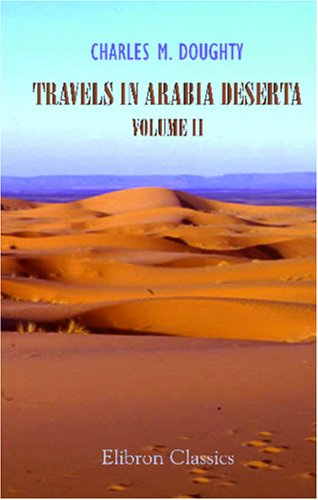 Large book cover: Travels in Arabia Deserta: Volume 2