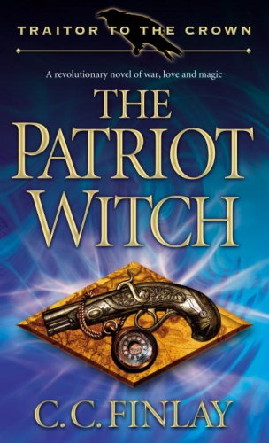 Large book cover: The Patriot Witch