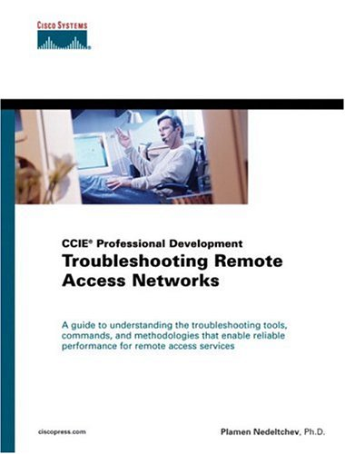 Large book cover: Troubleshooting Remote Access Networks