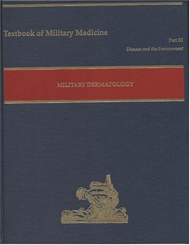 Large book cover: Military Dermatology
