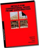Large book cover: Details for Conventional Wood Frame Construction