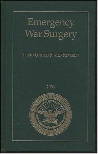 Large book cover: Emergency War Surgery