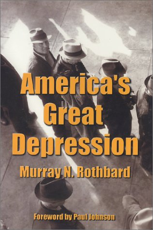 Large book cover: America's Great Depression