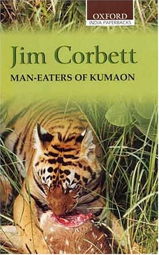 Large book cover: Man-Eaters of Kumaon