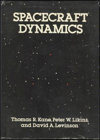 Large book cover: Spacecraft Dynamics