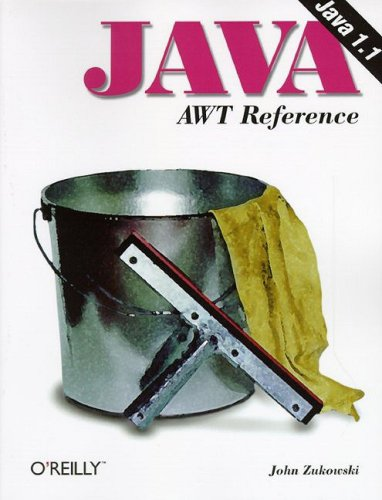 Large book cover: Java AWT Reference