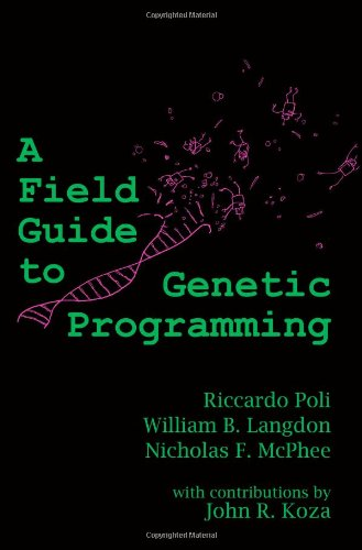 Large book cover: A Field Guide to Genetic Programming