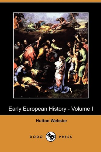 Large book cover: Early European History