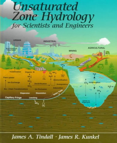 Large book cover: Unsaturated Zone Hydrology for Scientists and Engineers