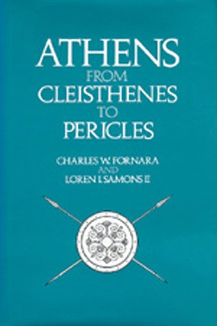 Large book cover: Athens from Cleisthenes to Pericles