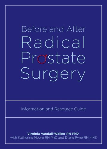 Large book cover: Before and After Radical Prostate Surgery: Information and Resource Guide
