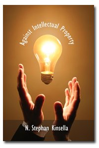 Large book cover: Against Intellectual Property